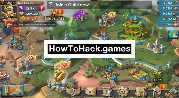 Lords Mobile Codes and Cheats Trees, Gems and Coins