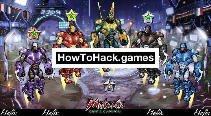 Mutants Genetic Gladiators Codes and Cheats Gold