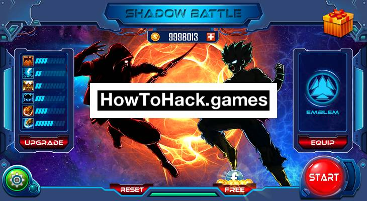 Shadow Battle 2.2 Codes and Cheats Money and Crystals