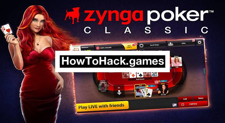 Zynga Poker Hack (Money) Cheats for Android and iOS
