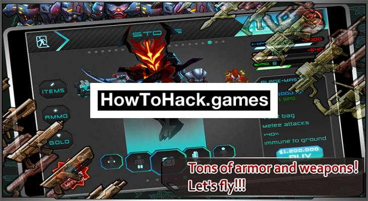 weapons games hacked