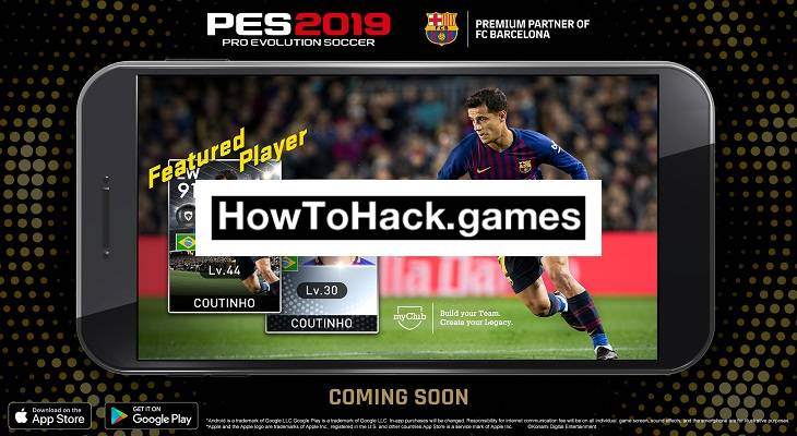 PES 2019 Mobile Hack (Coins) Cheats for Android and iOS