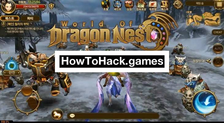 Dragon Nest Codes and Cheats Health and Potions