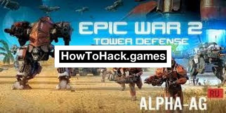 Epic War TD 2 Codes and Cheats Money