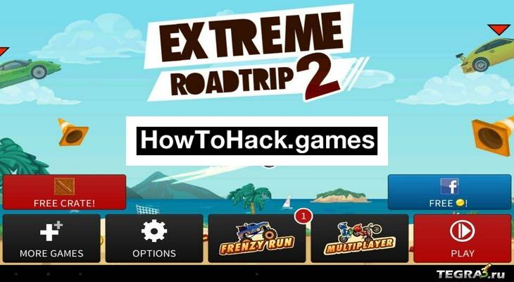 Extreme Road Trip 2 Codes and Cheats Coins