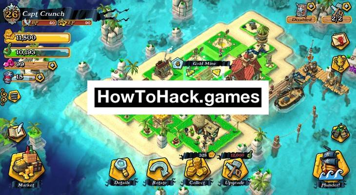 Plunder Pirates Codes and Cheats Gold and Gems
