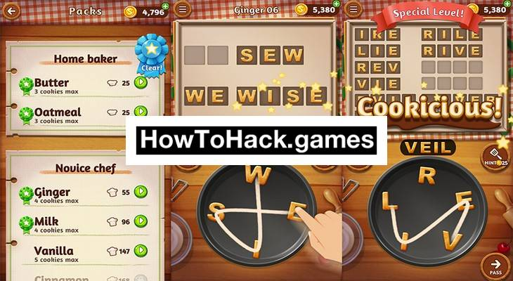 Word Cookies Codes and Cheats Coins