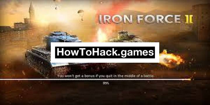 Iron Force 2 Codes and Cheats Keys, Gems and Tanks